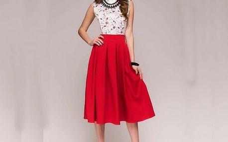Vintage bohémské šaty - 2 barvy