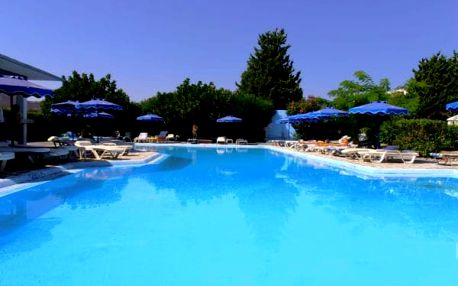 Řecko - Rhodos na 8 až 11 dní, all inclusive s dopravou letecky z Prahy, Brna nebo Ostravy 700 m od pláže
