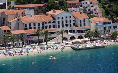 Chorvatsko - Podgora na 8 až 10 dní, plná penze, polopenze nebo snídaně s dopravou autobusem, letecky z Ostravy nebo vlastní přímo na pláži