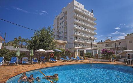 Španělsko - Mallorca na 8 až 12 dní, polopenze s dopravou letecky z Brna nebo Prahy 100 m od pláže