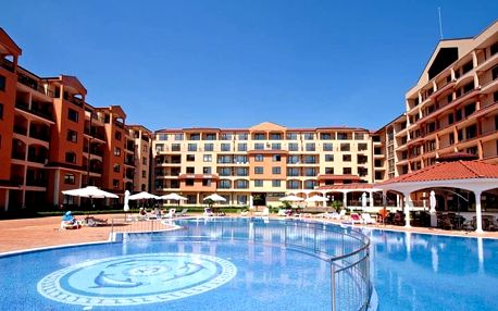 Bulharsko - Slunečné Pobřeží na 8 až 12 dní, all inclusive s dopravou letecky z Prahy nebo Brna 400 m od pláže
