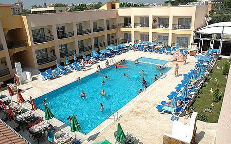 Turecko - Side na 8 až 9 dní, all inclusive s dopravou letecky z Brna nebo Prahy 200 m od pláže