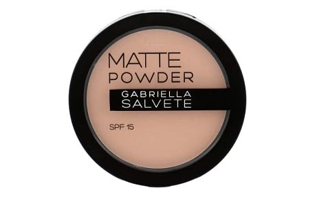 Gabriella Salvete Matte Powder SPF15 8 g pudr pro ženy 03