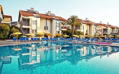 Turecko - Side na 8 až 15 dní, all inclusive s dopravou letecky z Prahy 500 m od pláže
