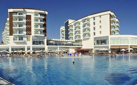 Turecko - Turecká Riviéra na 8 dní, all inclusive s dopravou letecky z Prahy 150 m od pláže