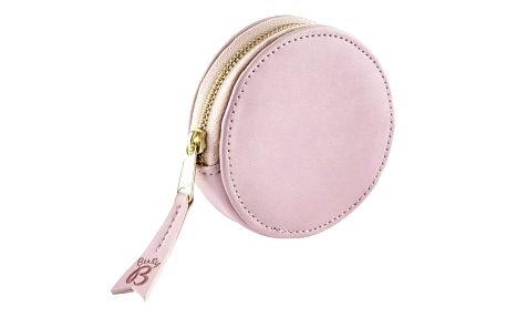 Růžová peněženka na mince a klíče BusyB