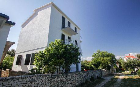 Chorvatsko - Šibenik na 8 dní, bez stravy s dopravou vlastní 300 m od pláže