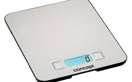Kuchyňská váha Concept SINFONIA VK5710 stříbrná