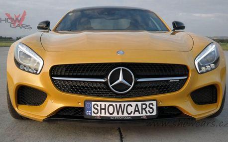 Jízda ve voze Mercedes Benz AMG GTS V8 BiTurbo