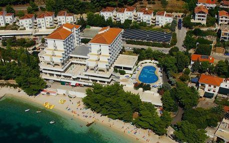 Chorvatsko - Gradac na 8 dní, all inclusive, polopenze nebo snídaně s dopravou letecky z Ostravy nebo Prahy přímo na pláži