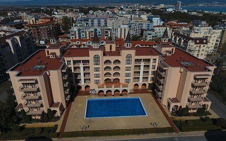 Bulharsko - Slunečné Pobřeží na 8 až 12 dní, all inclusive s dopravou letecky z Košic, Bratislavy nebo Prahy 300 m od pláže