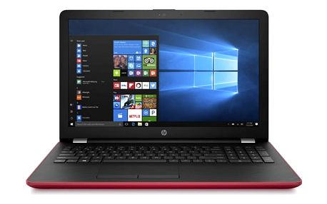 Notebook HP 15-bw050nc červený + dárky (2CN89EA#BCM)