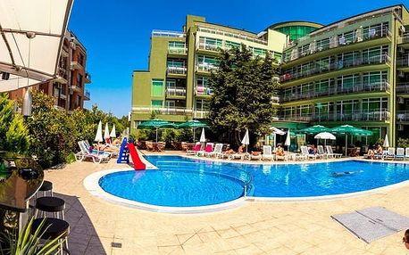 Bulharsko - Slunečné Pobřeží na 8 až 12 dní, all inclusive nebo light all inclusive s dopravou letecky z Budapeště nebo Prahy 500 m od pláže