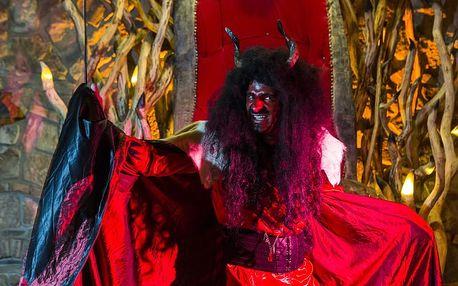 Peklo Čertovina - exkurze a čertovský program s možností pekelného menu