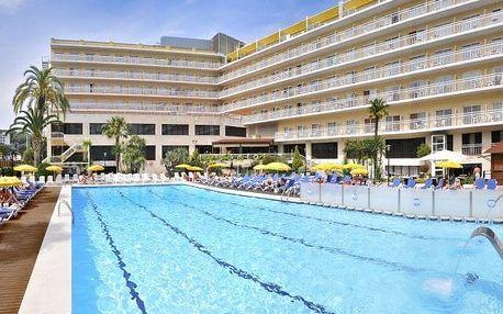 Španělsko - Costa Brava na 9 až 13 dní, polopenze s dopravou letecky z Prahy 400 m od pláže