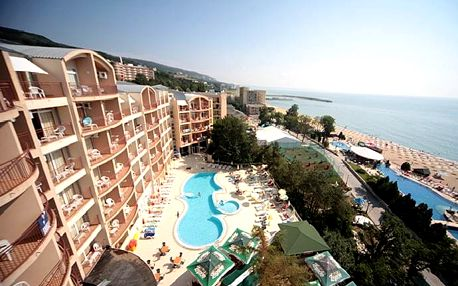 Bulharsko - Zlaté Písky na 8 až 12 dní, all inclusive s dopravou letecky z Brna nebo Prahy 50 m od pláže