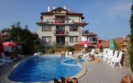 Bulharsko - Obzor na 8 až 11 dní, snídaně s dopravou letecky z Prahy 150 m od pláže