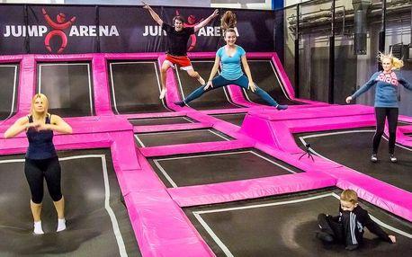 Hodina zábavy: trampolíny a nafukovací atrakce