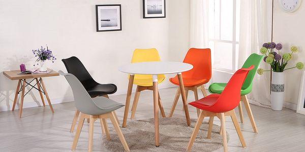 Jídelní židle CROSS tyrkysová3
