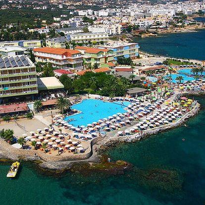 Řecko - Kréta na 8 až 11 dní, all inclusive s dopravou letecky z Prahy přímo na pláži
