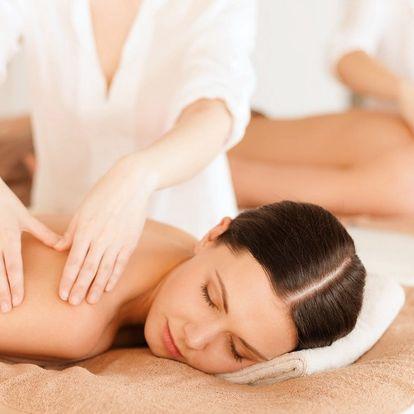 Párová masáž dle výběru ze 4 druhů