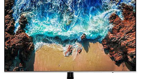 Televize Samsung UE55NU8002 černá/stříbrná