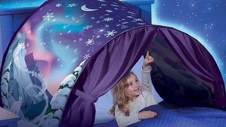 Pohádkový přístřešek nad dětskou postel