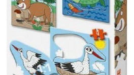 Puzzle baby zvířátka 3 obrázky