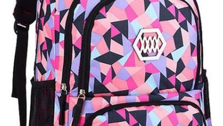 Dívčí školní batoh - různé barvy
