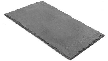 Břidlicový servírovací podnos Tasev Nevada, 31 x 21 cm