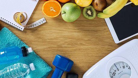 1 až 5 lekcí tréninkového plánu nebo týdenní až dvoutýdenní stravovací plán na míru
