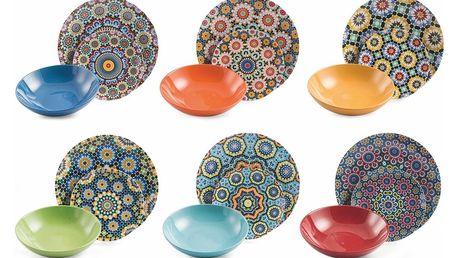 18dílná sada nádobí Villa d'Este Marrakech Tavola