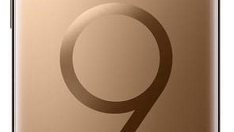 Mobilní telefon Samsung Galaxy S9+ 256GB (G965F) zlatý + dárek (SM-G965FZDHXEZ)