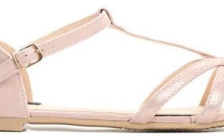 Dámské růžové sandály Mercedes 1461