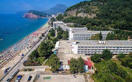 Černá Hora - Sutomore na 8 dní, all inclusive s dopravou letecky z Prahy přímo na pláži