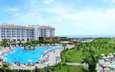 Turecko - Side na 4 až 12 dní, all inclusive s dopravou letecky z Prahy přímo na pláži