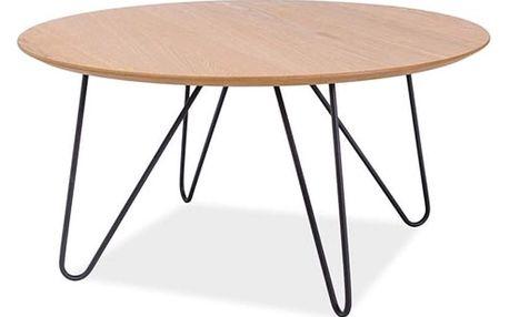 Konferenční stolek s kovou konstrukcí Signal Grena, ⌀80cm