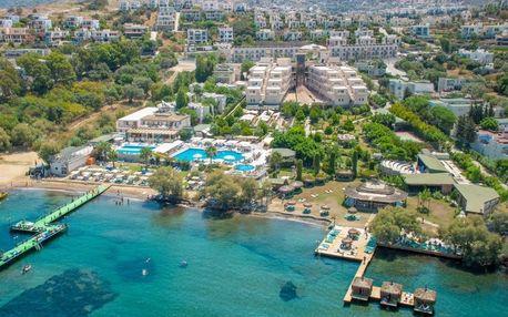 Turecko - Bodrum na 8 až 13 dní, all inclusive s dopravou letecky z Prahy přímo na pláži