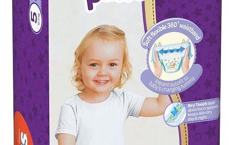 HUGGIES® Pants Jumbo 5 (12-17 kg), 34 ks - plenkové kalhotky