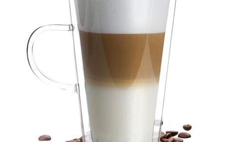 Dvojitá sklenice Vialli Design Amo Latte, 320ml