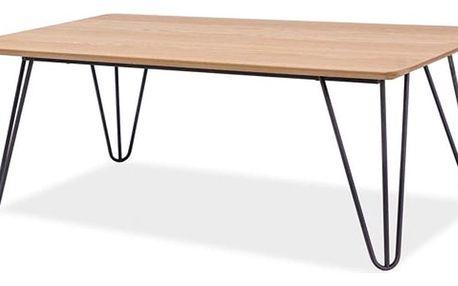 Konferenční stolek s kovou konstrukcí Signal Grena, délka110cm