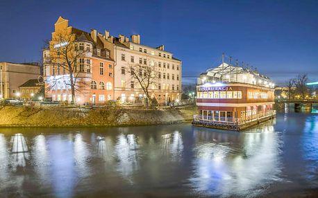 Hotel Tumski *** v centru Vratislavi
