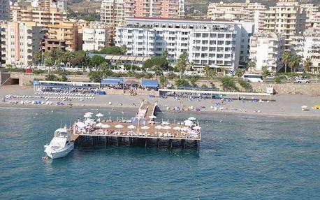 Turecko - Alanya na 8 dní, all inclusive s dopravou letecky z Prahy 50 m od pláže