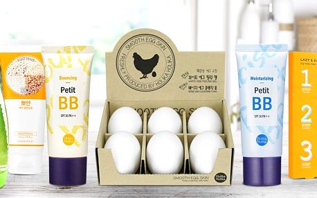 Korejská kosmetika: BB krém, peeling i náplasti