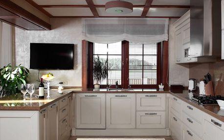 Vysoce odolný kuchyňský koberec Webtappeti Bouquet,60x190cm