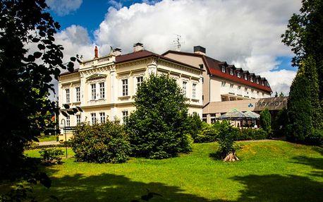 Lužické hory: 4* hotel s polopenzí a wellness