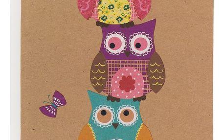 Zápisník A5 GO Stationery Owls