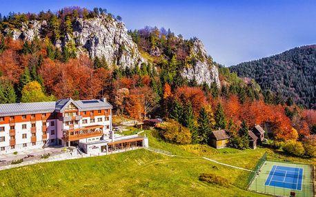 Aktívny pobyt s wellness v Horskom Hoteli Malina*** vo Veľkej Fatre