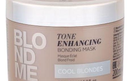 Schwarzkopf Blond Me Tone Enhancing Bonding Mask 200 ml maska na vlasy pro ženy Cool Blondes