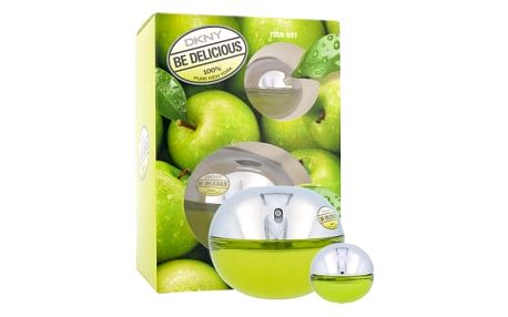 DKNY DKNY Be Delicious dárková kazeta pro ženy parfémovaná voda 100 ml + parfémovaná voda 7 ml